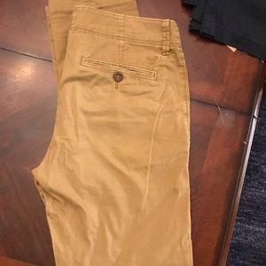 Men's American Eagle khaki skinnies 30x30